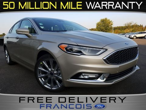 New 2018 Ford Fusion Platinum With Navigation & AWD