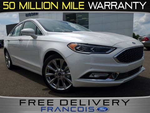 New 2017 Ford Fusion Platinum With Navigation & AWD