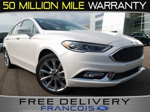 New 2018 Ford Fusion Platinum With Navigation