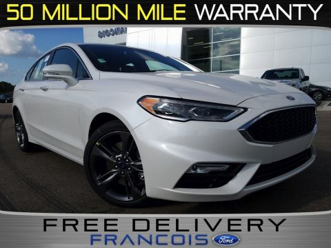 New 2018 Ford Fusion Sport AWD