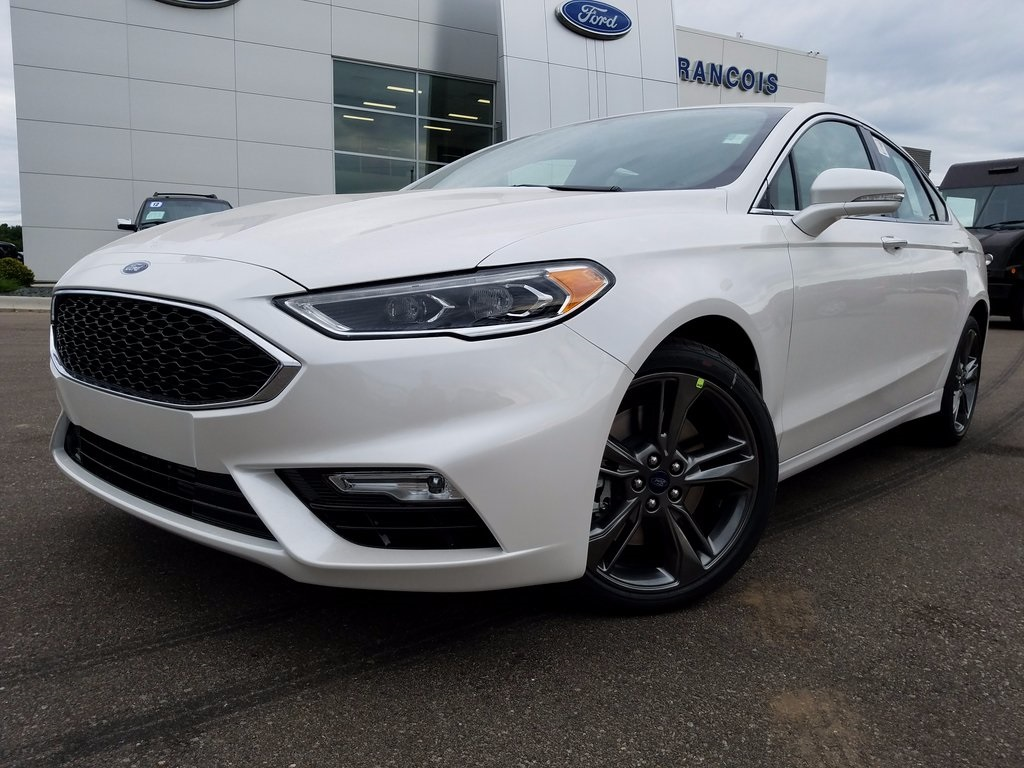 new 2018 ford fusion sport 4d sedan in belleville jr113836 francois ford. Black Bedroom Furniture Sets. Home Design Ideas